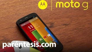 Reseña En Video: Moto G