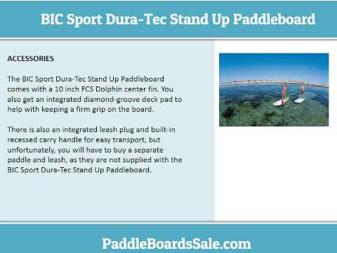 BIC Sport Dura Tec Stand Up Paddleboard – video review