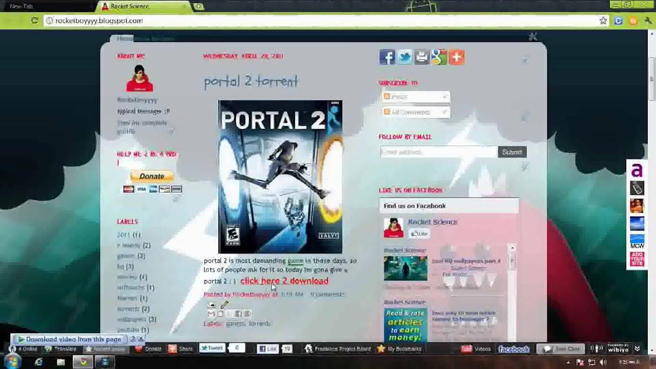 Portal 2 Crack Fix-Skidrow