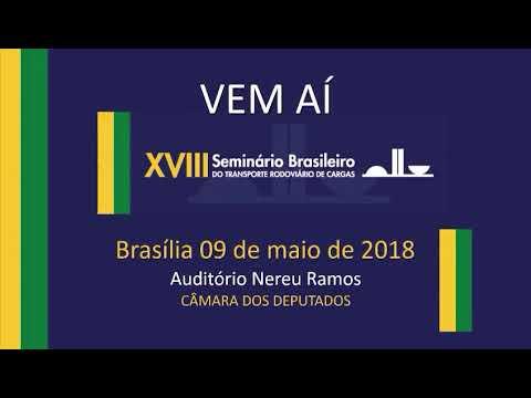 Convite - XVIII Seminário Brasileiro do Transporte Rodoviário de Cargas