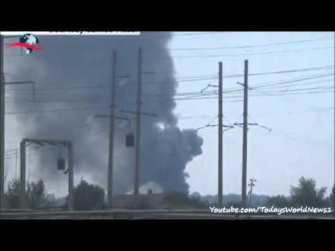 Ukraine army helicopter shot down near Sloviansk