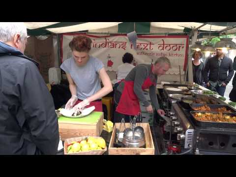 Alchemy food festival South Bank in HD 1080p