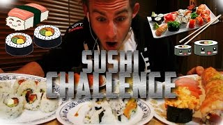 ALL YOU CAN EAT SUSHI CHALLENGE! | 10,000+ CALORIES