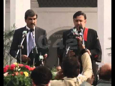 New Governor Syed Makhdoom Ahmed Mehmood Oath Taking & City Activities Pkg By Ali Akber City42