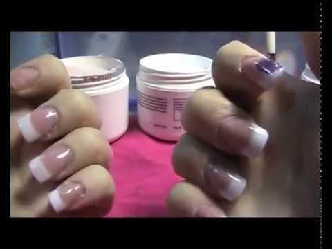 Principiantes: Tutorial de cómo hacer uñas acrílicas con tips y reversa