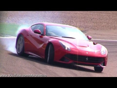 Ferrari F12 Berlinetta DRIFT and Accelerations!
