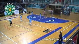 Futsal :: 09J Póvoa Futsal - 0 x Sporting  - 5 de 2013/2014