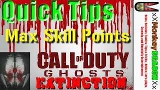 Call Of Duty Ghost Extinction Max Skill Points Quick Tips