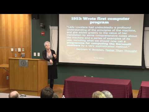 Stevens Institute of Technology: Valerie Aurora - Rebooting the Ada Lovelace Mythos