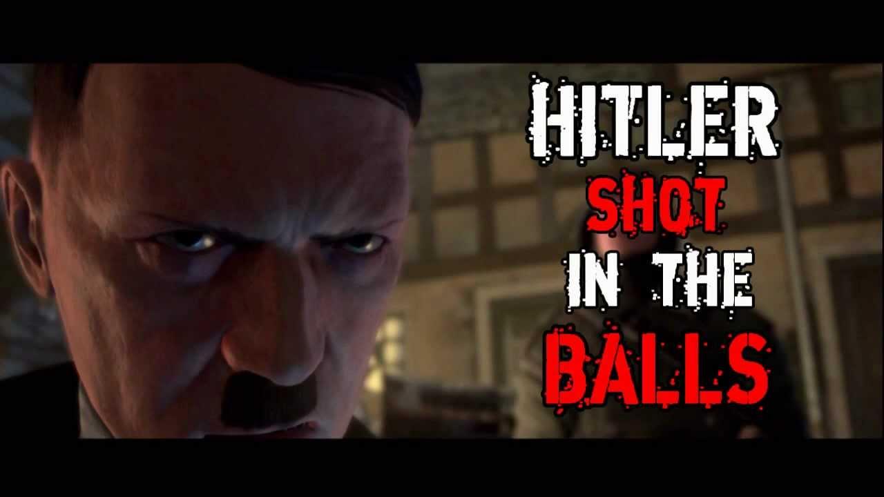 Sniper elite v2 hitler shot in the balls kill cam youtube
