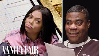Taraji P. Henson & Tracy Morgan Take a Lie Detector Test   Vanity Fair