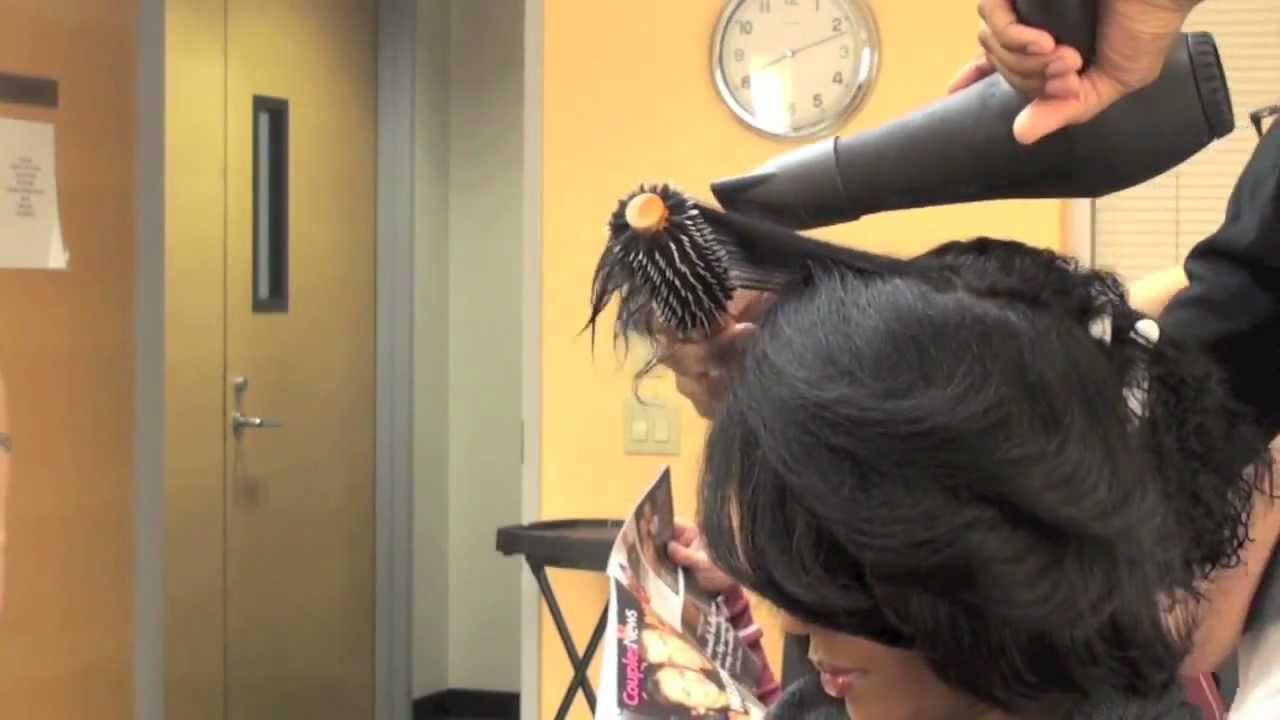 Blowdry African American Hair Youtube