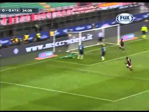 Kaká marca 100° gol pelo Milan -