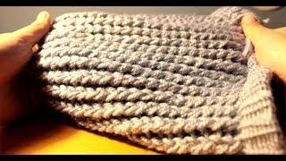 Gorro En Telar Circular // Beanie In Circular Loom // DIY
