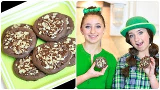 Learn How to Make Chocolate Mint Cookies | Brooklyn and Bailey