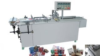 YX-W25 Semi Automatic Cellophane Film Packing Machinery