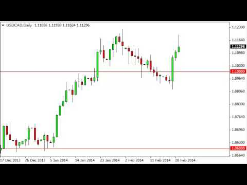 USD/CAD Technical Analysis for February 24, 2014 by FXEmpire.com