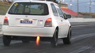 Nitrous Toyota Starlet turbo