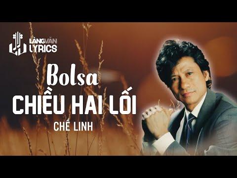 Chế Linh - Bolsa Chiều Hai Lối  [OFFICIAL KARAOKE M/V]