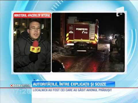 Autorităţile caută vinovaţii pentru bâlbele din timpul operaţiunii de salvare din judetul Cluj