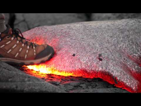 What you can learn from a quick step on lava.