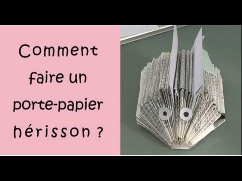 Comment faire un porte papier h risson youtube - Herisson en papier ...