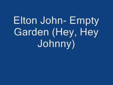 elton john empty garden hey hey johnny youtube