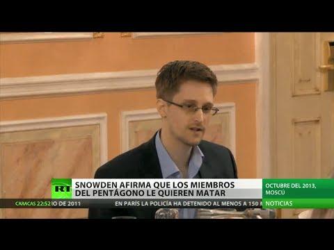 Snowden en su primera entrevista televisiva: