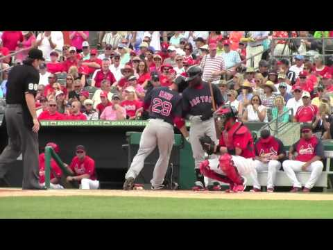St. Louis Cardinals vs Boston Red Sox-Spring Training 2014