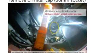 How To Change 2006 Volvo S40 2 4i Oil & Filter