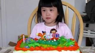 Allison's 3rd Birthday March 21, 2009