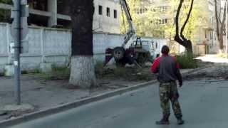 Strada Serghei Lazo se schimbă la faţă