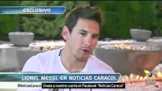 Cinco Minutos A Solas Con Lionel Messi En El Gol Caracol