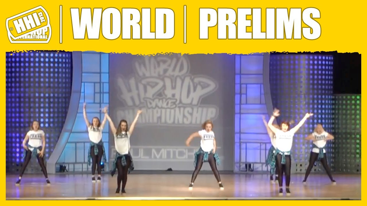 """UNITING THE WORLD OF HIP HOP THROUGH DANCE"" Fresh - Ireland (Varsity Division) @ Hip Hop International's 2013 World Hip Hop Dance Championship,held August 3..."