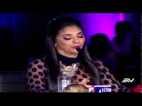 Anthony Coveña  Hace llorar a jurado de Ecuador tiene talento 3ra Temporada.