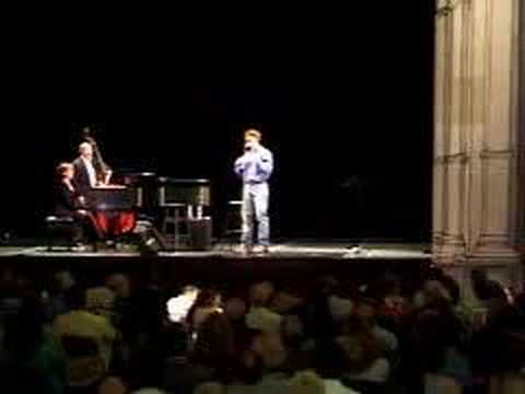 John Barrowman cabaret at Kennedy Center part 6