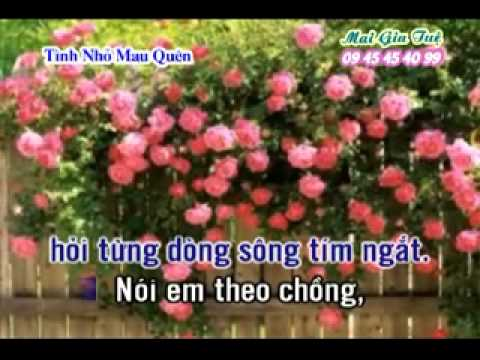 [karaoke nhac song] TINH NHO MAU QUEN