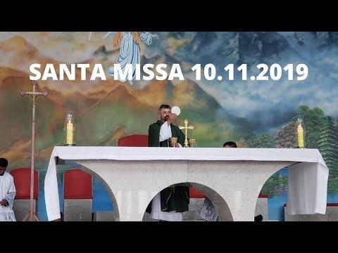 Santa Missa | 10.11.2019 | Padre Paulo Sérgio Mendes da Silva | ANSPAZ