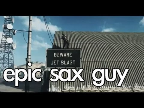 Battlefield 3 - Epic Sax Guy! -REkYzvW85a8