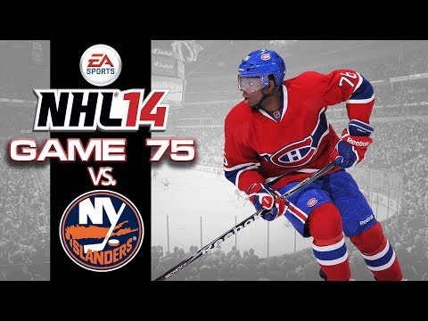 Let's Play NHL 14 - Game 75 vs New York Islanders