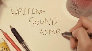 다양한 글씨 쓰는 소리 ASMR[No talking ASMR](만년필 소리,연필,샤프,볼펜),집중력,공부 asmr,불면증,수면유도,꿀꿀선아,suna asmr,글씨 asmr,