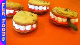 [Cookie Teeth (Halloween Treats)] Video