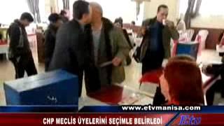 CHP MECLİS ÜYELERİ SEÇİMLE BELİRLENDİ