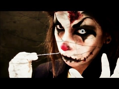 † HALLOWEEN : Maquillaje payaso diabólico (Killer Clown Makeup)