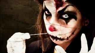 Halloween: Maquillaje payaso diabólico