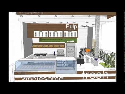 Food Strategy Pulp Juice Bar Kiosk Designs Youtube