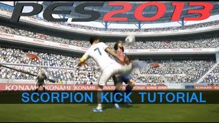 PES 2013 Scorpion Kick Backheel Tutorial