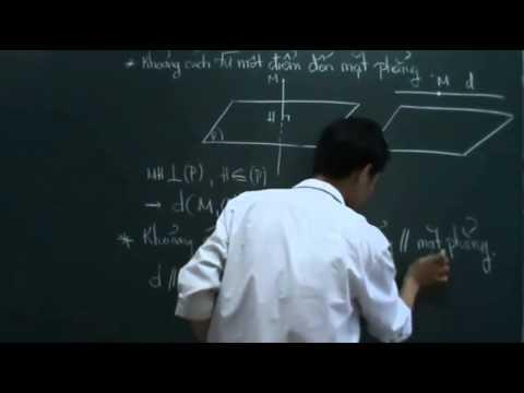 Khoảng cách trong không gian [LT] { Clip đi kèm với bài toán lớn }
