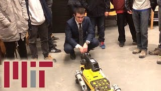Robot attends class at MIT, can't find a seat