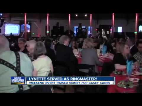 Cirque du Casey Cares Gala as reported by WMAR -TV
